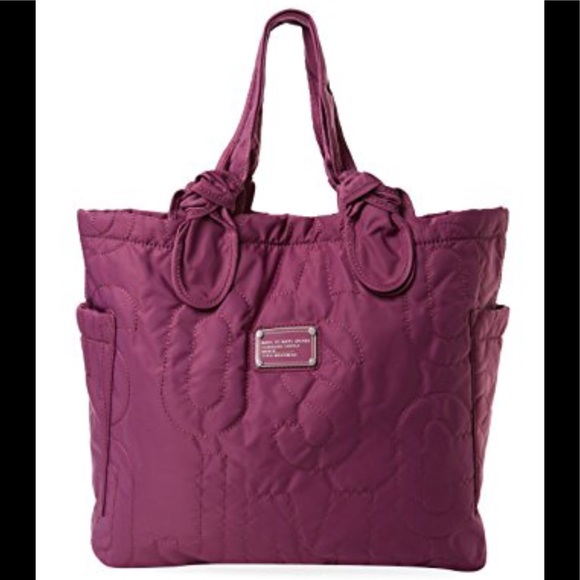 ccaa8bb52 Marc by Marc Jacobs quilted nylon tote. M_5a89a453a825a6eaa061fbe9